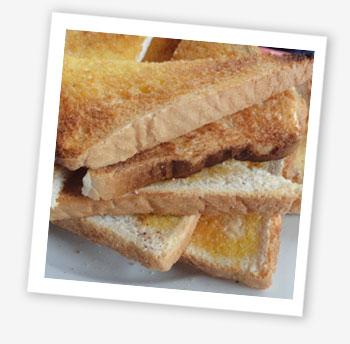 Toast mountain!
