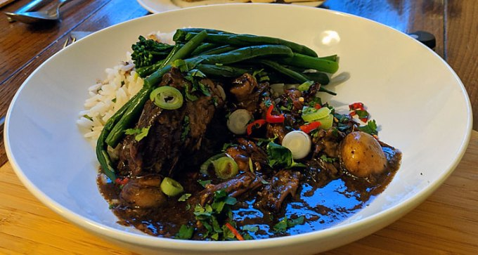 Hoisin beef short rib