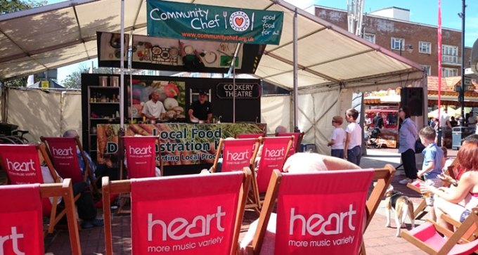 Southsea Food Festival food theatre