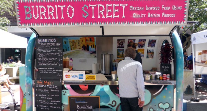 Burrito Street catering pod