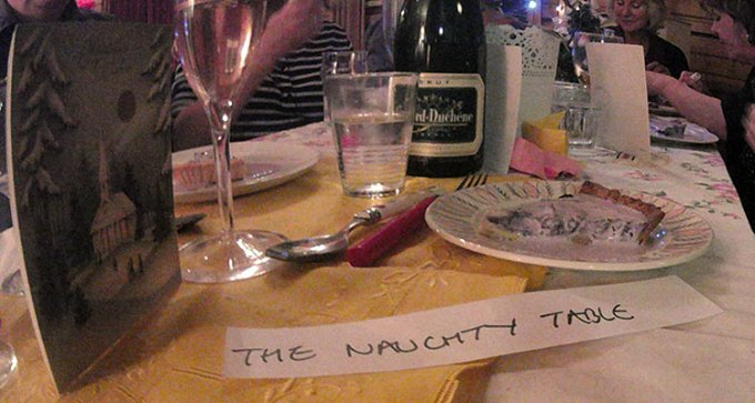 """""""The Naughty Table"""""""