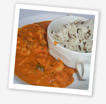 Prawn and crayfish madras