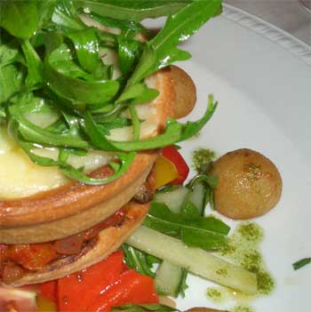 Ratatouille tartlet