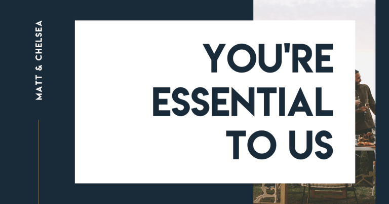 You're Essential to Us