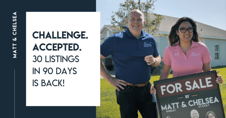 CHALLENGE. ACCEPTED. 30 Listings In 90 Days Is Back!