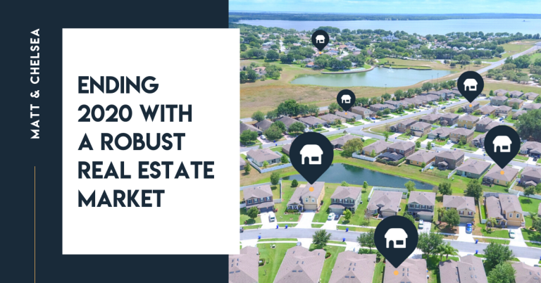 Ending 2020 with a robust real estate market
