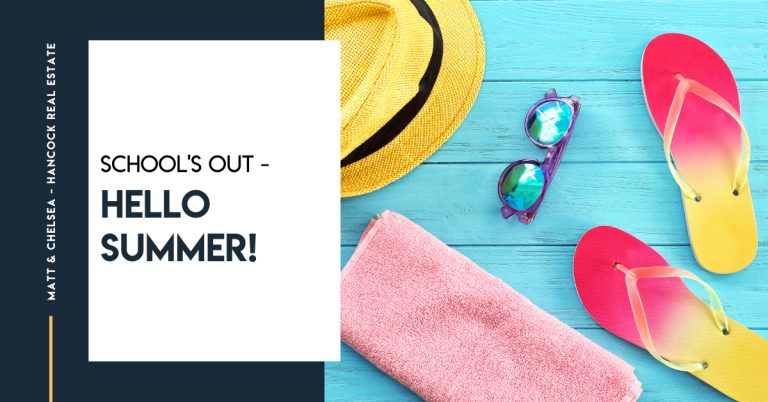School's out – hello summer!