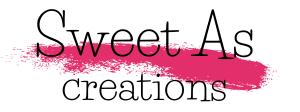 Sweet as creations