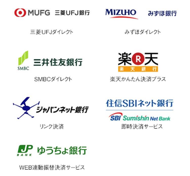 トライオートFXで振込手数料無料の金融機関