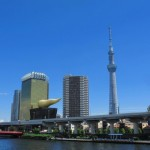 東京を水上バスで観光!40分で人気一番スポットめぐり!