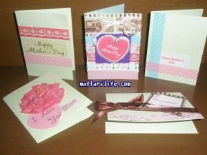 母の日プレゼントカード手作り
