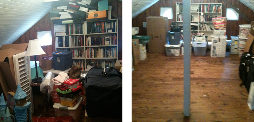 Before & After - Attic