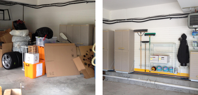 Before & After - Garage