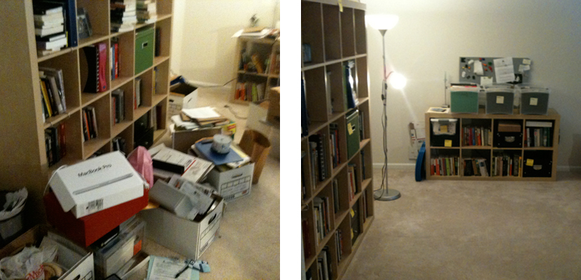 Before & After - Home Office