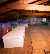 attic after