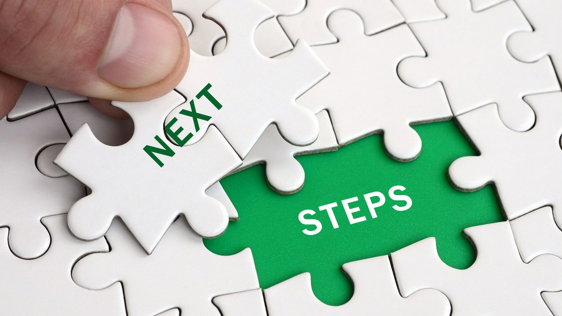 organizing your next steps