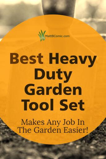 Best Heavy Duty Garden Tool Set Post Graphic