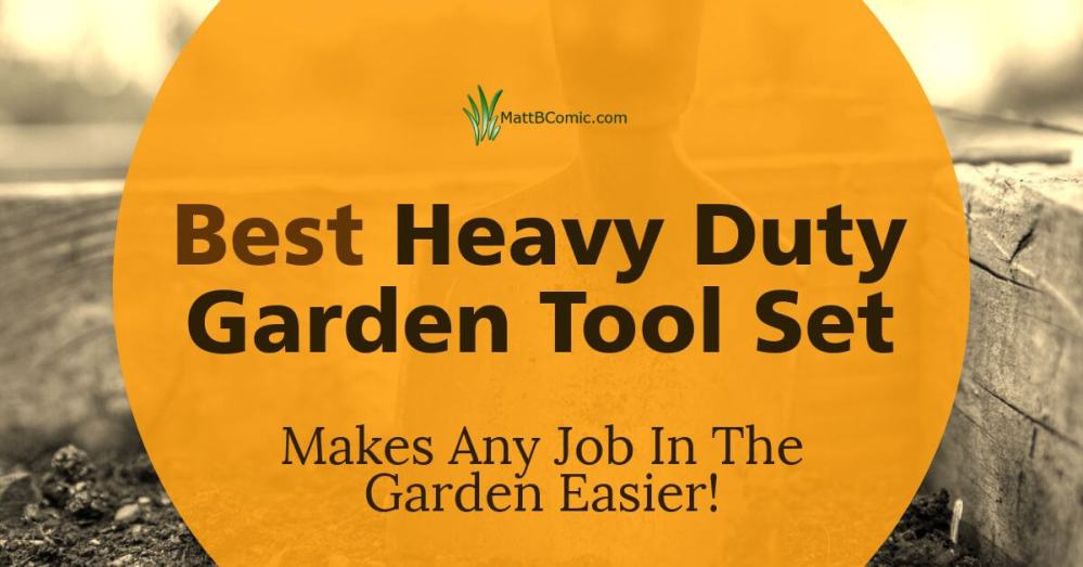 Top Rated Strong Garden Tool Set Featured Image