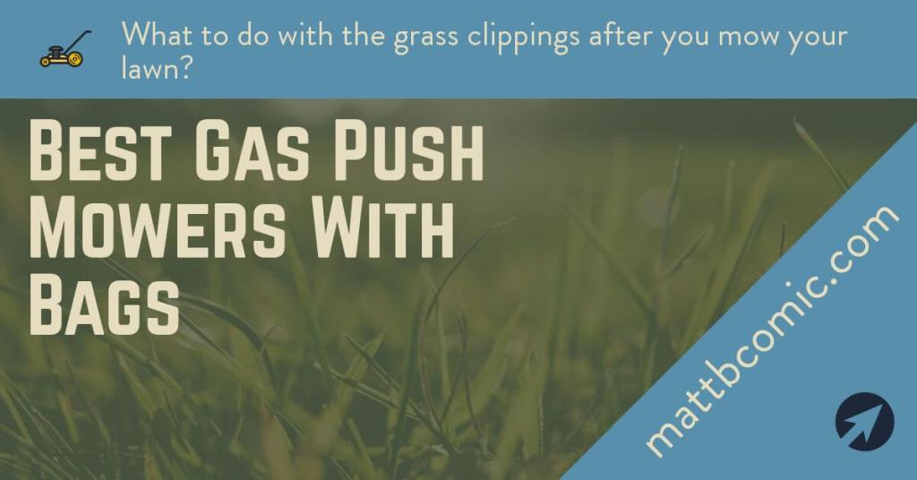 Best Gas Push Lawn Mowers With Bags
