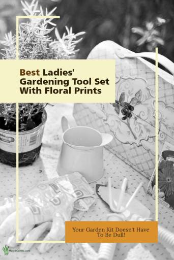 Ladies' Floral Garden Tool Set Post Graphic