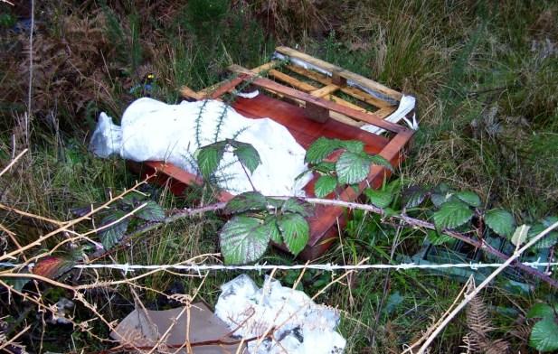 Dumped Pallet