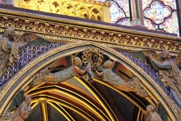 Sainte-Chapelle was built to house the crown of thorns.
