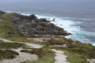 Malin Head, the northernmost part of Ireland.
