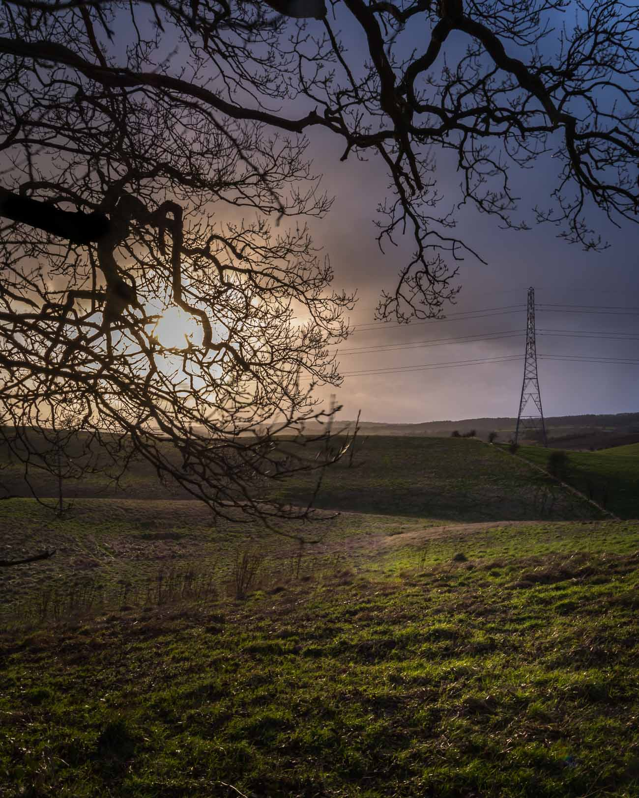 A Black Country Sunset at Bunkers Hill Woods