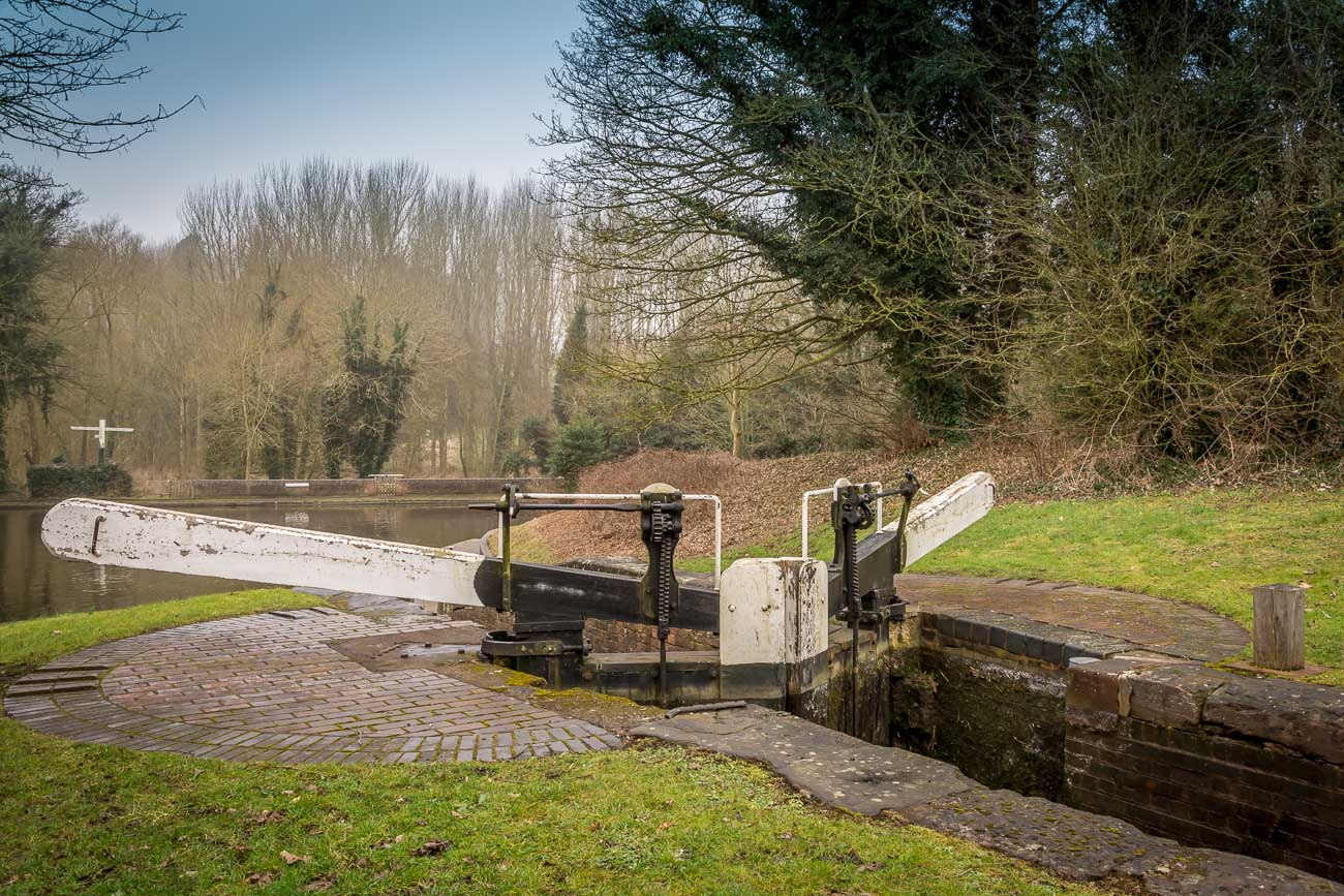 Stourbridge Canal Bottom Lock in the Black Country