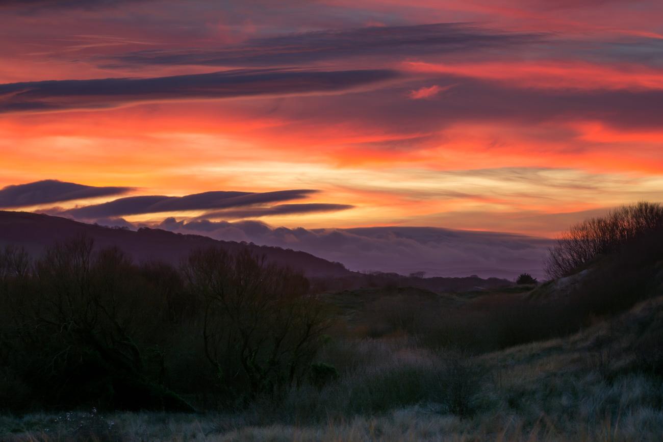 Sunset at Talacre North Wales