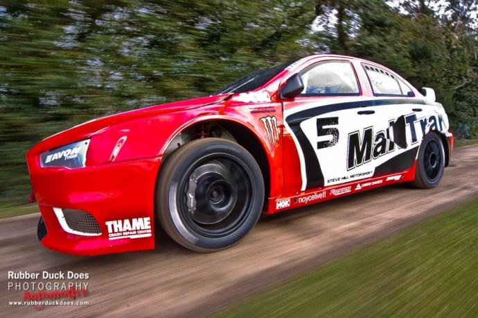 Rallycross Super car   Rig Shot for Japanese Performance