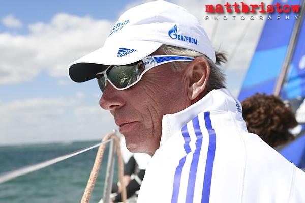 Yacht skipper Jochen Schümann