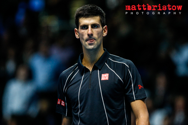 Barclays ATP World Finals - Novak Djokovic victorious
