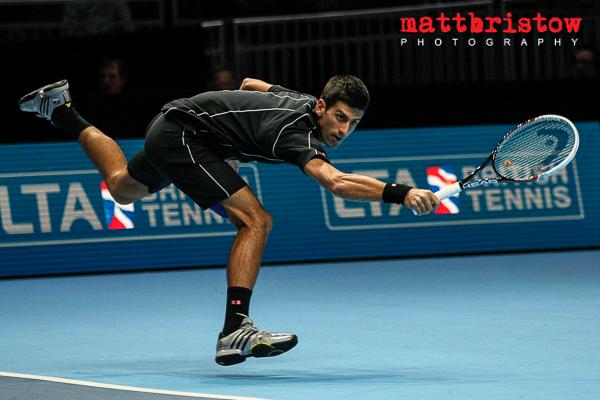 Barclays ATP World Finals - Novak Djokovic makes a dramatic return