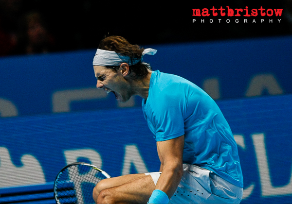 Barclays ATP World Finals 2013 - Rafael Nadal wins the match and finishes the season as world number 1