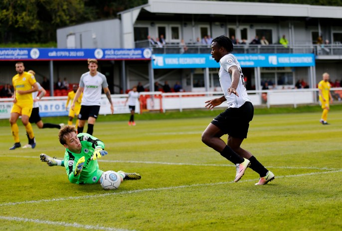 Dover Athletic v Chester. Conference Premier