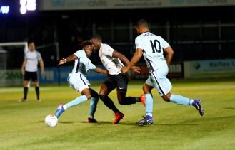 Dover Athletic v Boreham Wood. Conference Premier