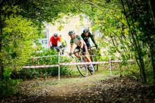 East Kent Cyclocross round 3 at Northbourne Park