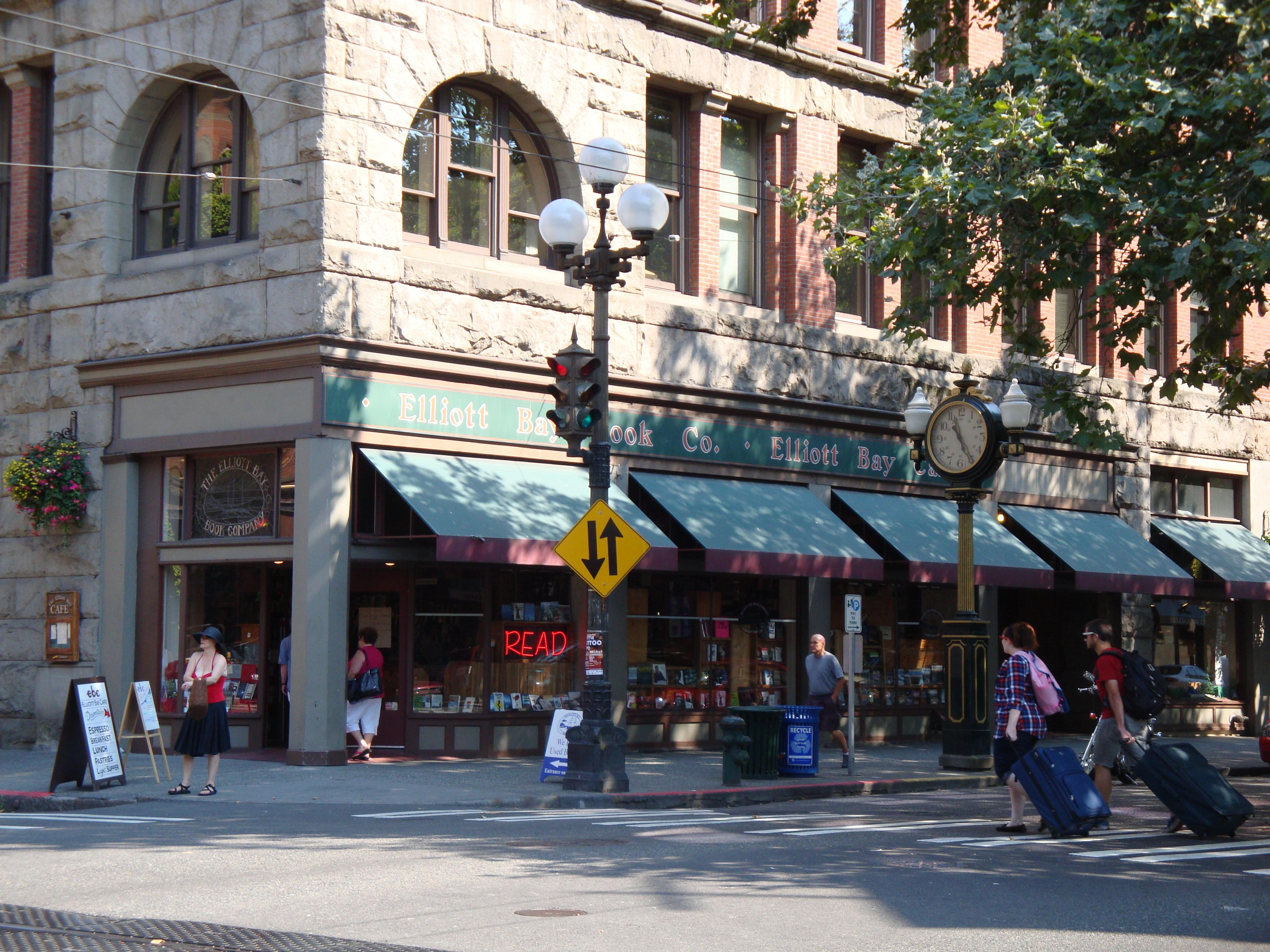 Best book store in Seattle - Elliot Bay Books