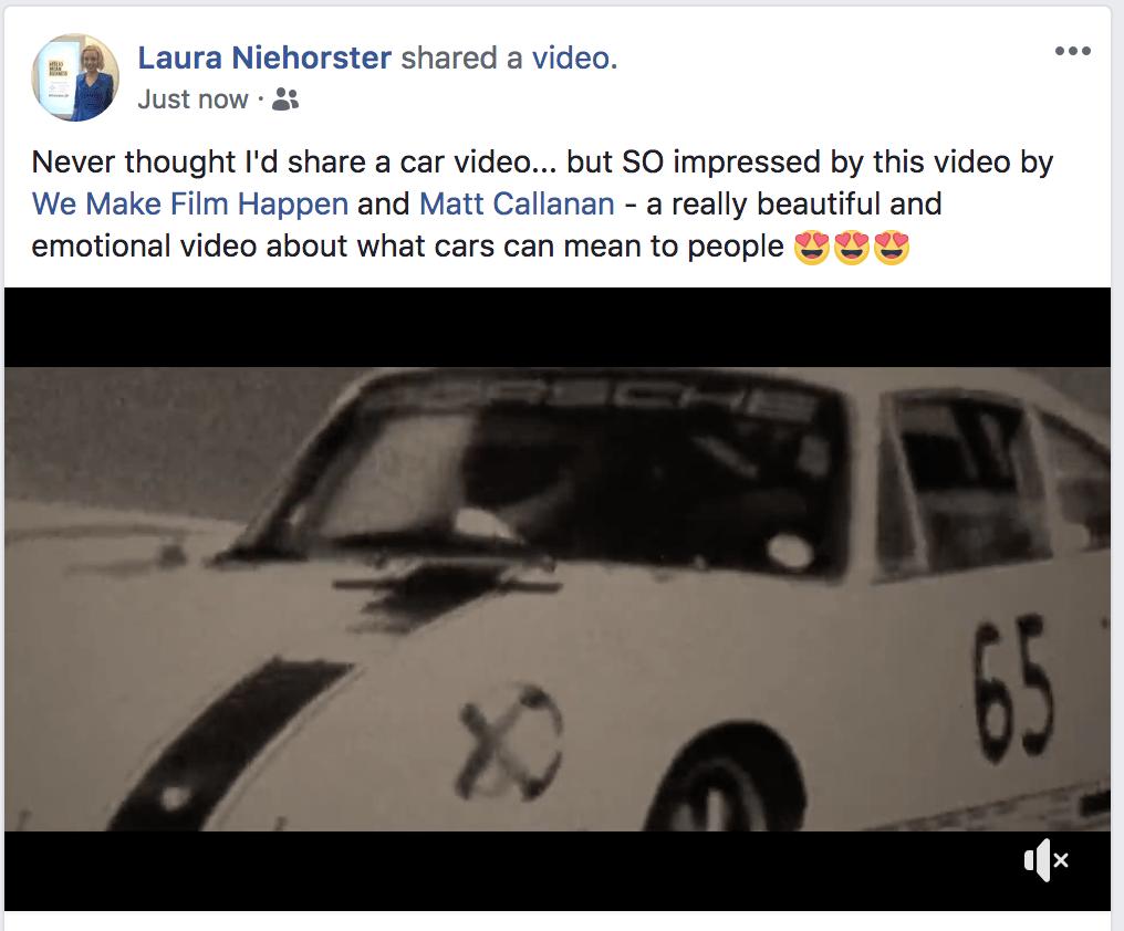 Porsche We Make Film Happen