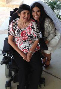 Rachel and her mother