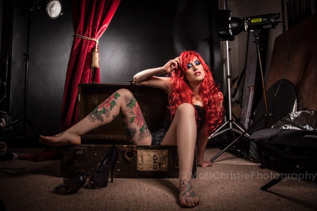 Adreena Glamour Red Wig