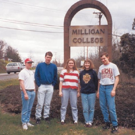 My first visit to Milligan College