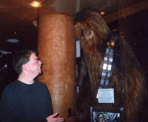 Meeting Chewbacca