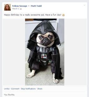Pug Darth Vader