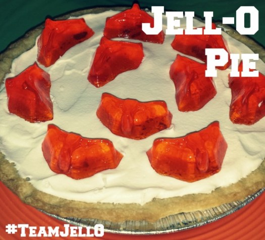 Jell-O Pie with Jigglers #TeamJellO