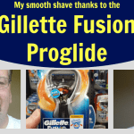 My smooth shave with the Gillette Fusion Proglide
