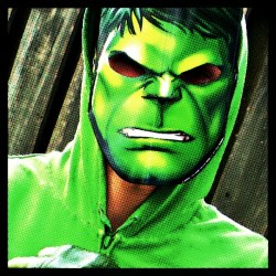 Aiden as Hulk #AvengersUnite