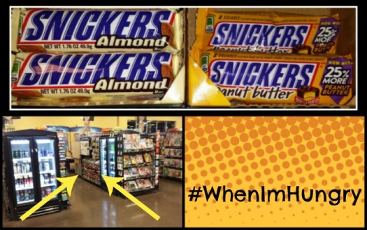 SNICKERS® available at Kroger #WhenImHungry #ad