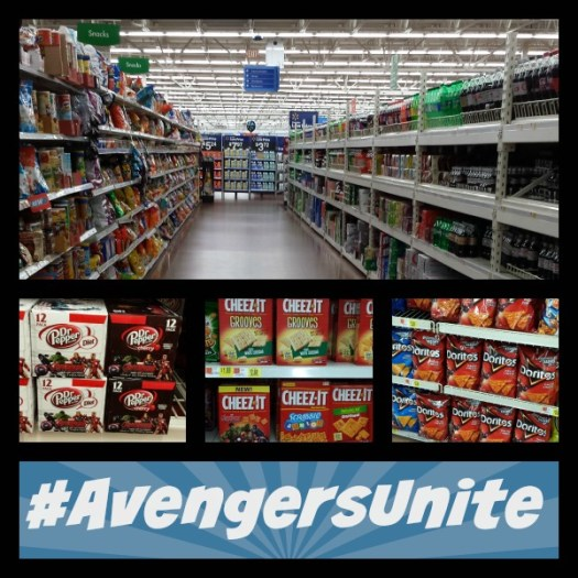Walmart Collage #AvengersUnite
